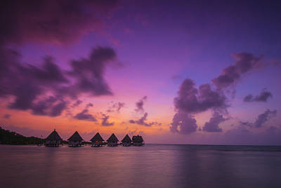 South Pacific Photograph - Glimpse Of Heaven by Aaron Bedell