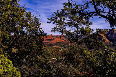 Photograph - Glimpse Of Red Rocks by Mark Myhaver