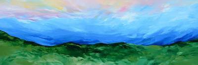 Christian Painting - Glimpse Of The Splendor by Linda Bailey