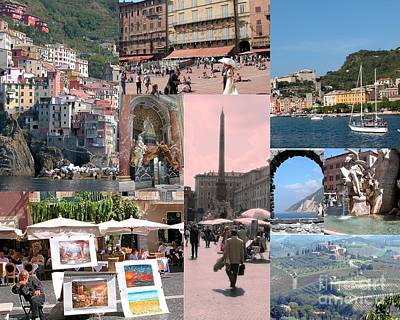Photograph - Glimpses Of Italy by Barbie Corbett-Newmin