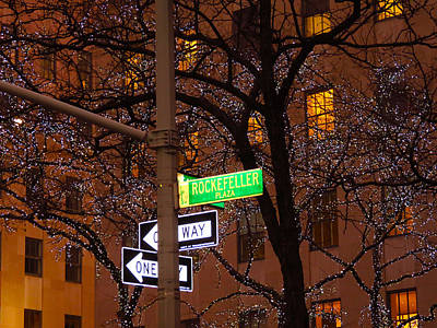 Photograph - Glistening Branches On The Plaza by Terry Wallace