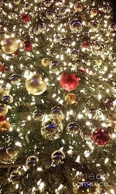 Photograph - Glistening Christmas Tree by Jennifer E Doll