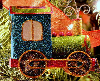Glitter Express Art Print