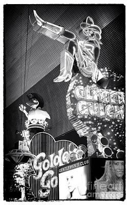 Photograph - Glitter Gulch by John Rizzuto