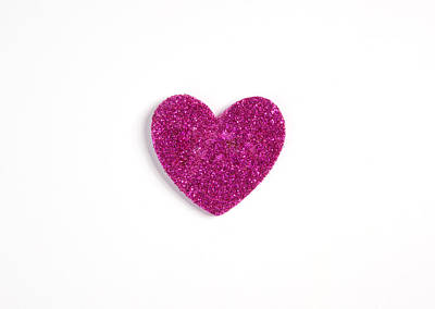 Photograph - Glitter Heart by Scott Sanders