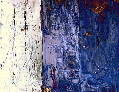 Mixed Media - Glittery by Davina Nicholas