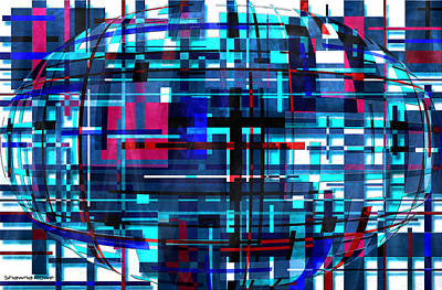 Digital Art - Global Connection by Shawna Rowe