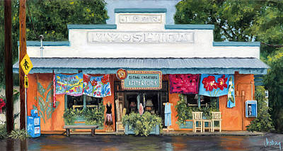 Haleiwa Painting - Global Creations by Stacy Vosberg