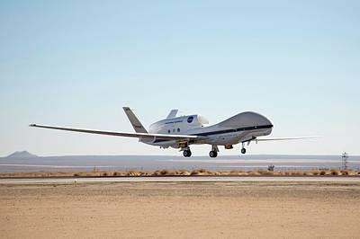 Global Hawk Unmanned Aerial Vehicle Art Print