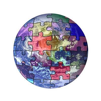 Global Weather Patterns Art Print