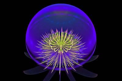 Digital Art - Globe by Sandy Keeton