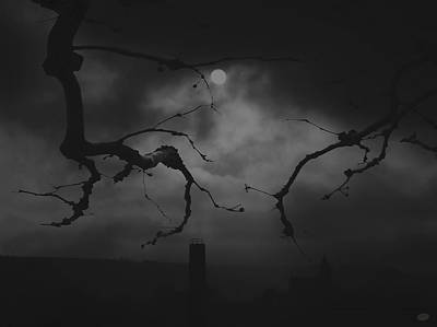 Grim Digital Art - Gloom by Nafets Nuarb
