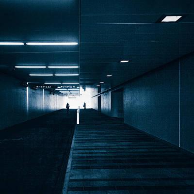 Photograph - Gloomy Blue by Ari Salmela