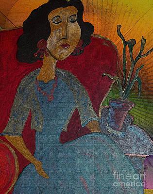Painting - Gloria by Iris Gelbart