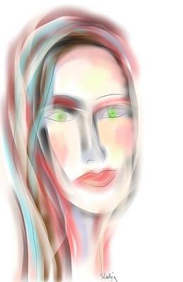 Gloria Digital Art - Gloria by Sladjana Lazarevic