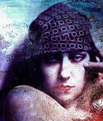 Gloria Painting - Gloria Swanson Oil by Steve K