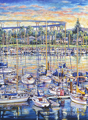 Painting - Glorietta Bay Sunrise by Glenn McNary