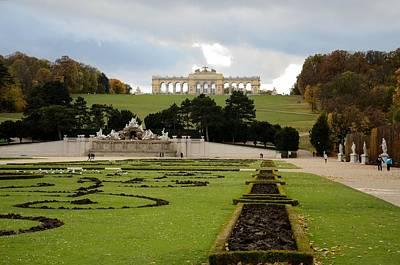 Photograph - Gloriette Schonnbrun Palace Vienna Austria by Imran Ahmed