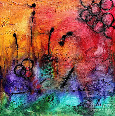Mixed Media - Glorious by Angela L Walker