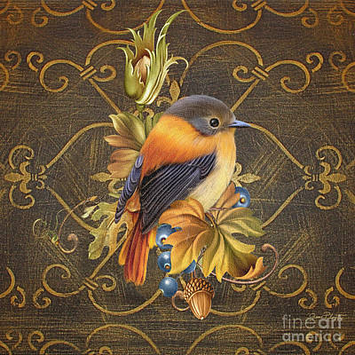 Glorious Birds-a Original by Jean Plout