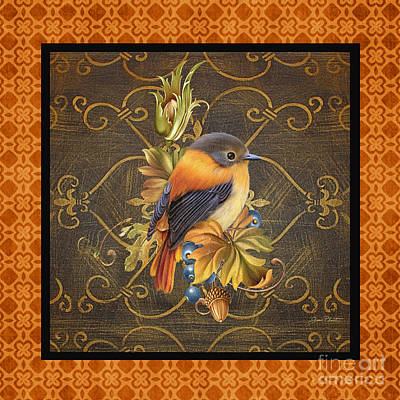 Glorious Birds-a2 Original by Jean Plout