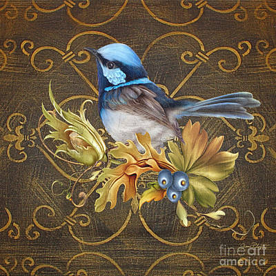 Glorious Birds-b Original by Jean Plout
