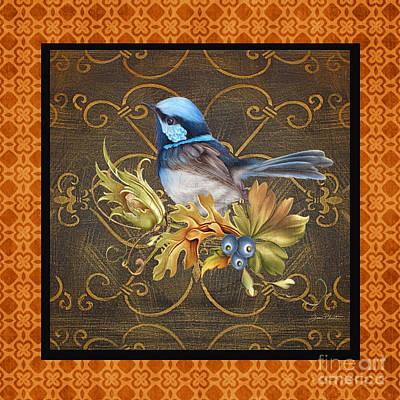 Glorious Birds-b2 Original by Jean Plout