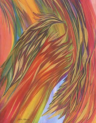 Glorious Breakthrough Art Print by Lula Adams