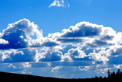 Photograph - Glorious Clouds I by Kathy Sampson