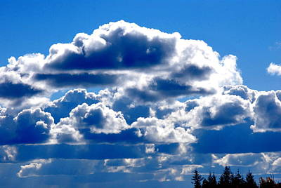 Photograph - Glorious Clouds II by Kathy Sampson