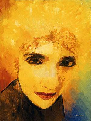 Glorious Crone Art Print by RC deWinter