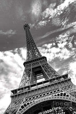 Photograph - Glorious Eiffel Tower by Olivier Le Queinec