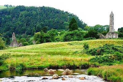 Photograph - Glorious Glendalough by Charlie and Norma Brock