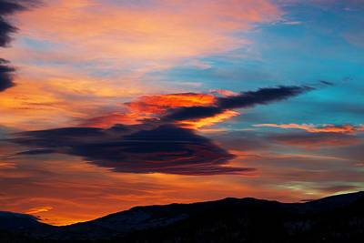 Glorious Morning- Helena Mt Art Print by Kevin Bone