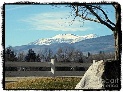 Photograph - Glorious Mount Rose by Bobbee Rickard