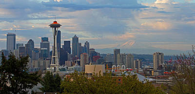 Photograph - Glorious Seattle by Shari Sommerfeld