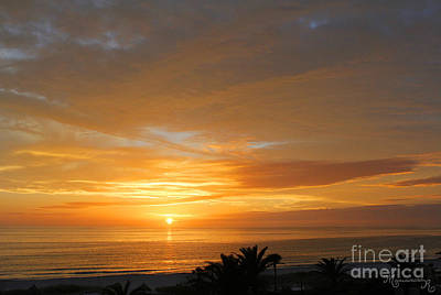 Photograph - Glorious Sunset by Mariarosa Rockefeller
