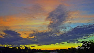 Photograph - Glorious Sunset by Luther Fine Art