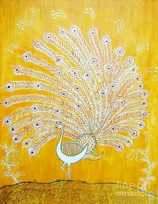 Warli Painting - Glory by Anjali Vaidya