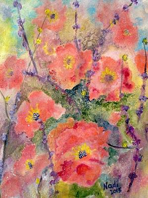 Painting - Glory Garden by Renate Nadi Wesley
