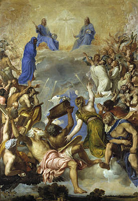 Gloria Painting - Glory by Titian