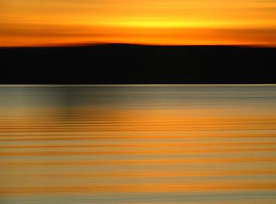 Abstract Movement Photograph - Gloucester Brace Cove by Juergen Roth