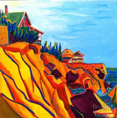 Painting - Gloucester Cliffs by Debra Bretton Robinson