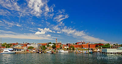 Gloucester Massachusetts Art Print by Charles Dobbs