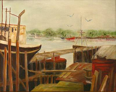 Painting - Gloucester by Michael Anthony Edwards