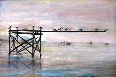 Painting - Gloucester Sunday Morning by Michael Anthony Edwards