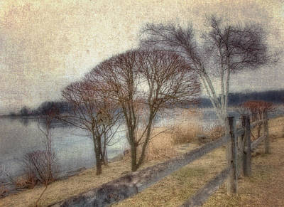 Photograph - Gloucester Winter Morning - Vintage by Joann Vitali