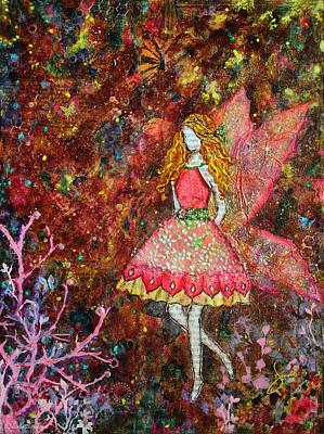 Folkart Mixed Media - Glow by Janelle Nichol