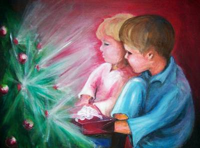 Painting - Glow Of Christmas by Martha Suhocke
