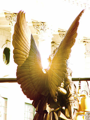Photograph - Glowing Angel by Misty Stach